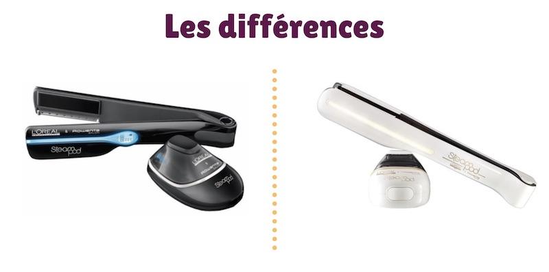 Les différences entre le Steampod 1.0 et 2.0