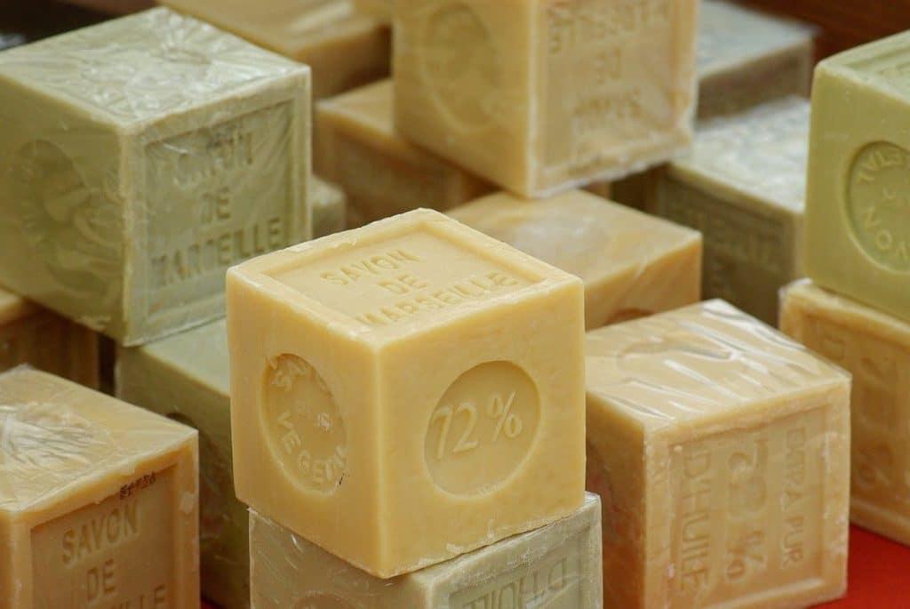 Blocs de savon de marseille