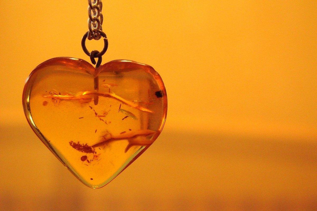 Bijoux en ambre jaune